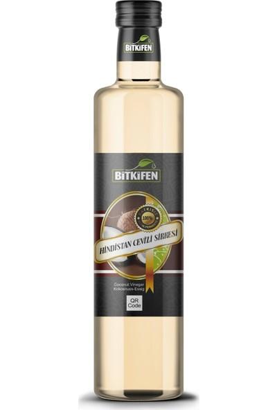 Bitkifen Hindistan Cevizi Sirkesi 500 ml - Katkısız - Doğal Fermente