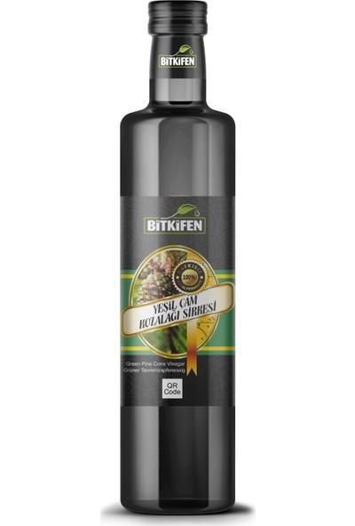 Bitkifen Yeşil Çam Kozalağı Sirkesi 500 ml Katkısız / Doğal Fermente