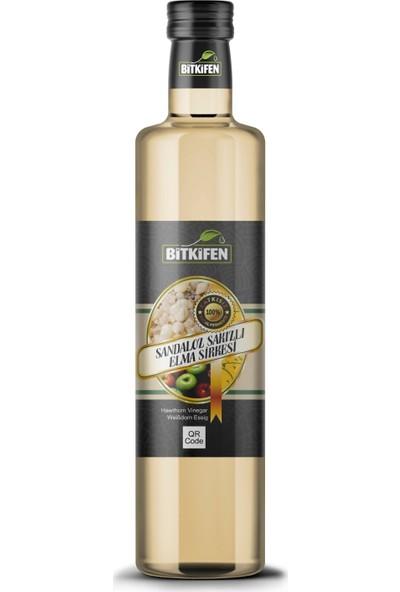 Bitkifen - Sandaloz Sakızlı Elma Sirkesi - 500 ml - Katkısız Doğal Fermente
