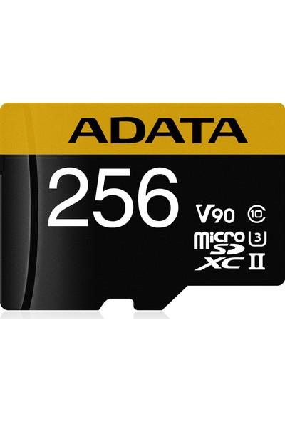 Adata 256GB microSDXC UHS-II U3 Hafıza Kartı AUSDX256GUII3CL10-CA1