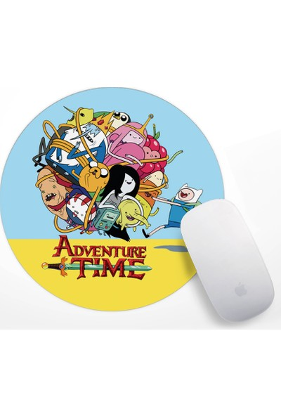 Adventure Time Tasarım Mouse Pad