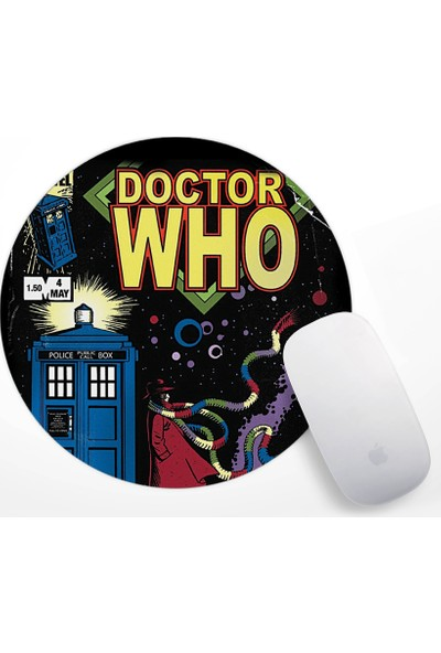 Doctor Who Tardis Tasarım Mouse Pad