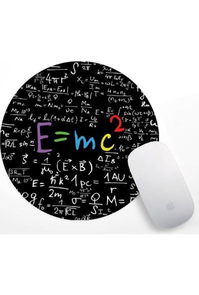 E=mc2 Tasarım Mouse Pad