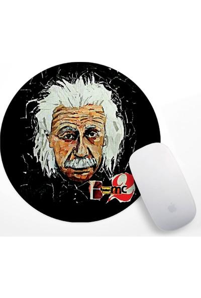 Einstein E=mc2 Tasarım Mouse Pad