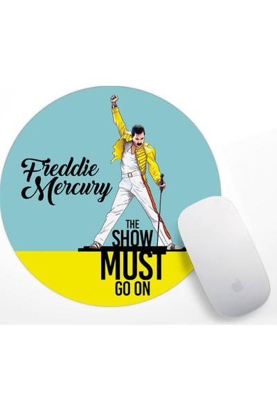 Freddie Mercury Tasarım Mouse Pad