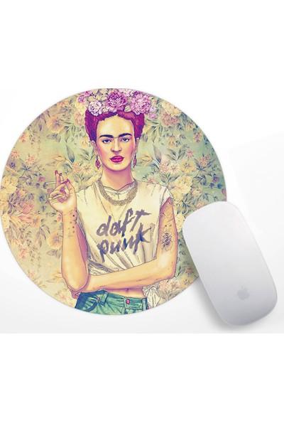 Frida Kahlo Tasarım Mouse Pad