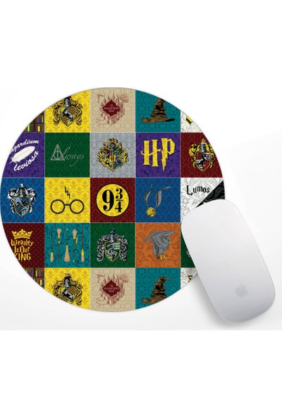 Harry Potter Tasarım Mouse Pad