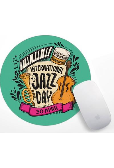 International Jazz Day Tasarım Mouse Pad