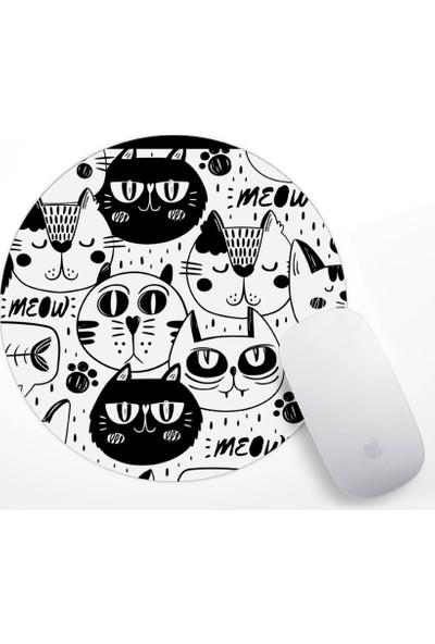 Kediler Tasarım Mouse Pad