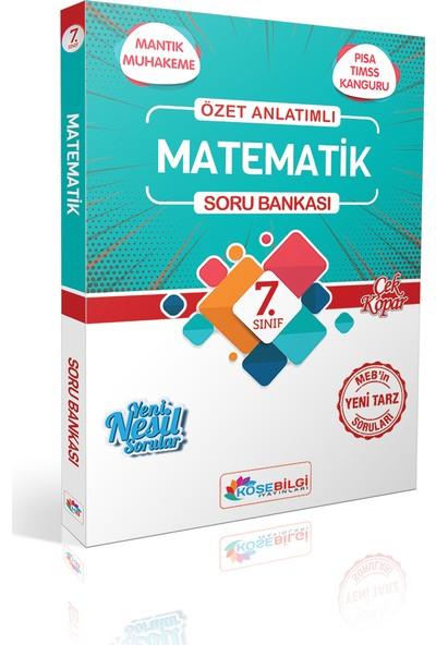 Köşe Bilgi Yayınları 7. Sınıf Matematik Özet Bilgili Soru Bankası