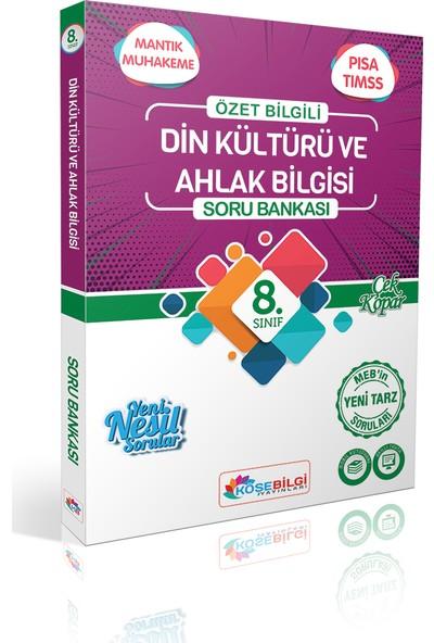 Köşe Bilgi Yayınları 8. Sınıf Din Kültürü ve Ahlak Bilgisi Soru Bankası