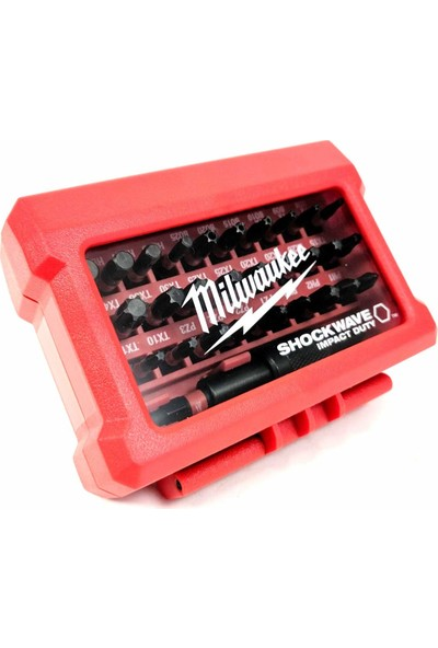 Milwaukee T4932464240 32'li Shockwave Bits Uç Seti