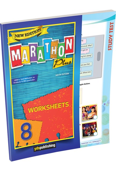 YDS Publishing Marathon Plus 8 New Edition Worksheets