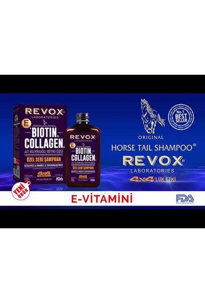 Revox Biotin & Collagen At Kuyruğu Şampuan 400 ml