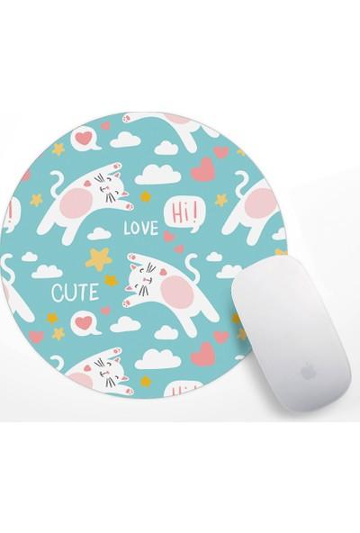 Minik Kediler Tasarım Mouse Pad