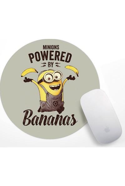 Minions Bananas Tasarım Mouse Pad