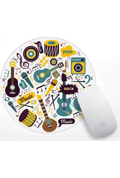 Müzik Tasarım Mouse Pad