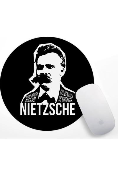 Nietzsche Tasarım Mouse Pad