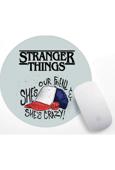 Stranger Things Tasarım Mouse Pad