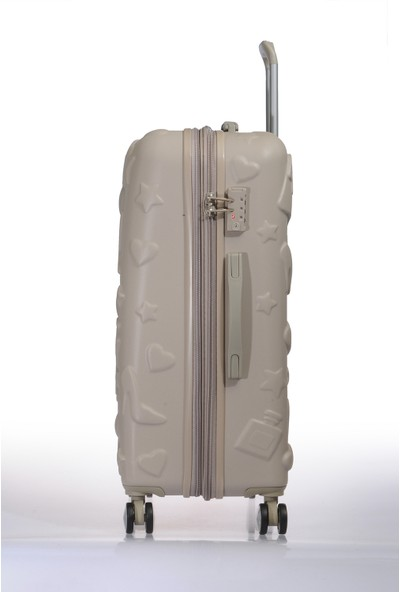 It Luggage Abs Orta Boy Valiz It2240 M Bej