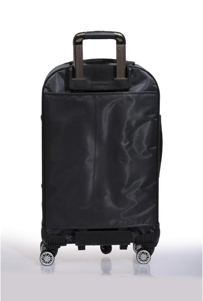 Nk Unisex Kumaş Orta Boy Valiz Nk9W005 M Gri Gri
