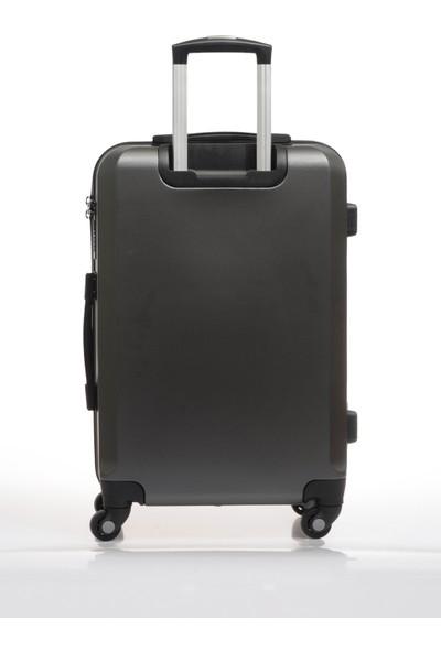 U.S. Polo Assn. Unisex Orta Boy Bavul Plvlz9139B Gri