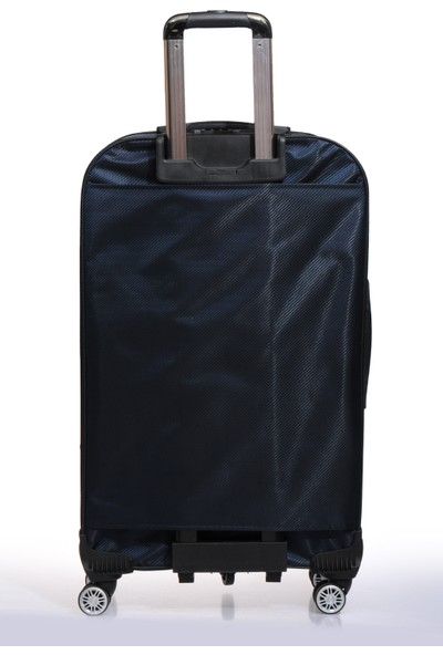 Nk Unisex Kumaş Büyük Boy Valiz Nk9W005 L Lacivert Lacivert
