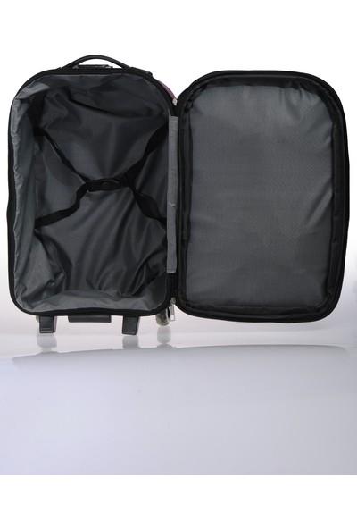 Nk Unisex Kumaş Kabin Boy Valiz Nk002 S Mor Mor