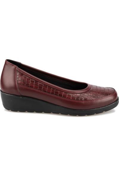 Polaris 5 Nokta 92.101014.Z Bordo Kadın Ayakkabı
