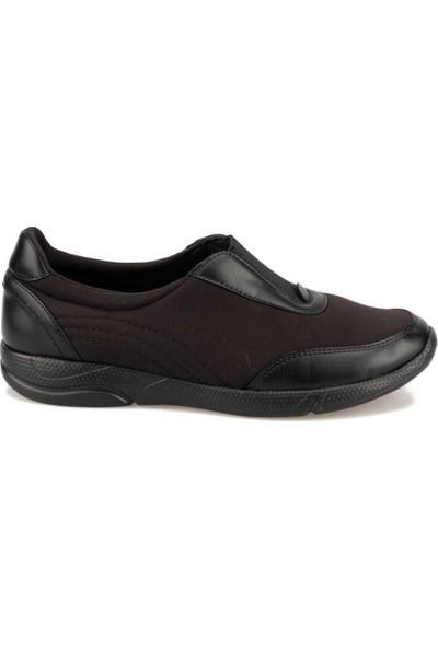 Travel Soft Trv920056 Siyah Kadın Sneaker Ayakkabı