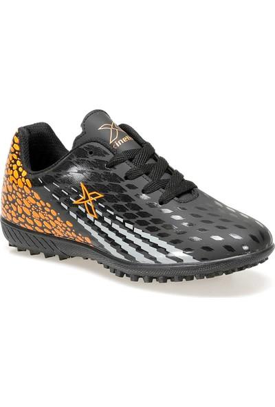 Kinetix Nando J Turf 9Pr Siyah Erkek Çocuk Halı Saha Ayakkabısı