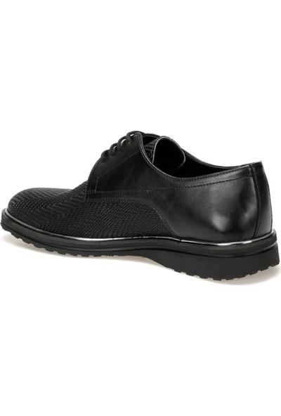 Jj-Stiller 313 Siyah Erkek Ayakkabı