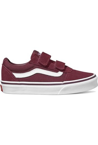 Vans Yt Ward V Bordo Unisex Çocuk Sneaker Ayakkabı