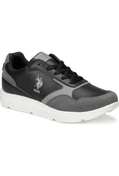U.S. Polo Assn. Embo 9Pr Siyah Kadın Sneaker Ayakkabı