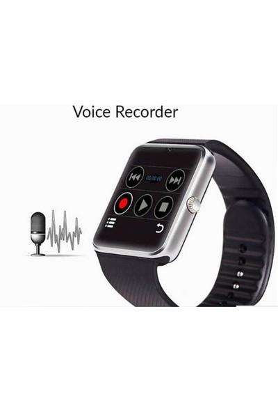 Teknofonik Akıllı Saat A1/2019 Sim Kartlı Destekli Kameralı Bluetoothlu Siyah