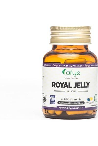 Afye Royal Jelly Arı Sütü Liyofilize 60 Kapsül 550 Mg
