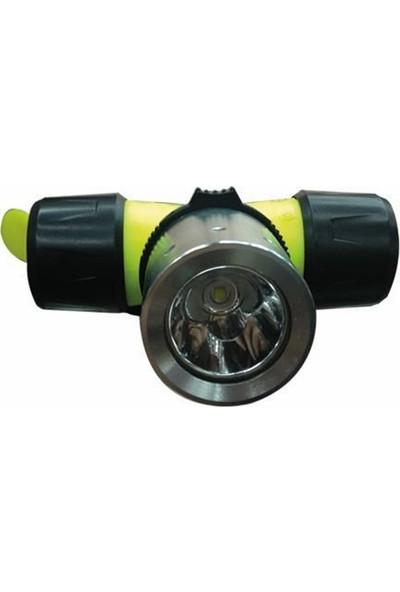 Effe 007-T6 Su Altı Ledli Kafa Lambası 10 Watt