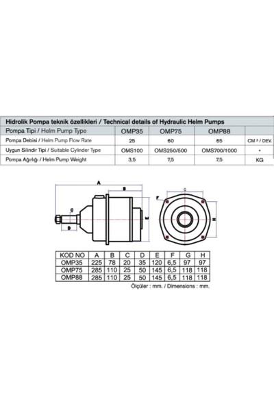 Oğuz OMP35 Hidrolik Pompa