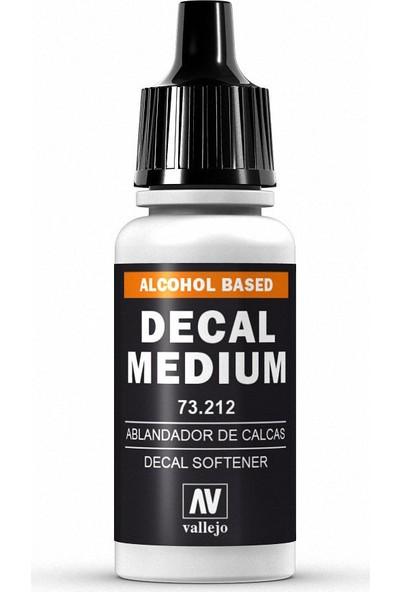 Vallejo Decal Medıum 212-17 ml