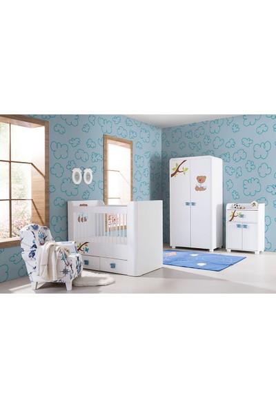 Formini Mobilya Teddy Mavi Bebek Odası Takımı