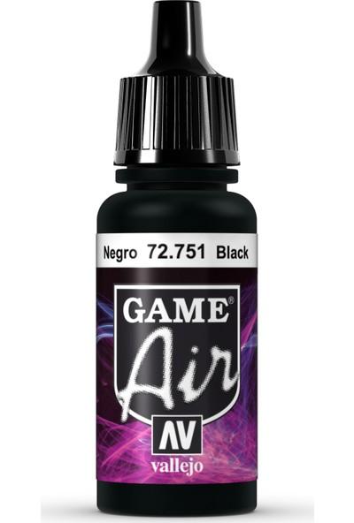 Vallejo Game Air 17 ml 72.751 Black