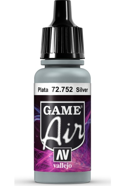 Vallejo Game Air 17 ml 72.752 Silver
