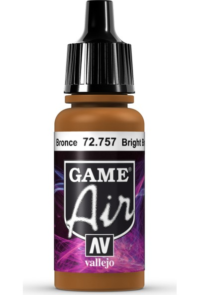 Vallejo Game Air 17 ml 72.757 Bright Bronze