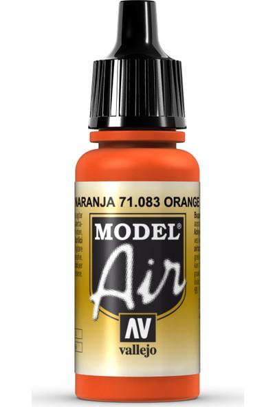 Vallejo Model Air 17 ml 71.083 Orange