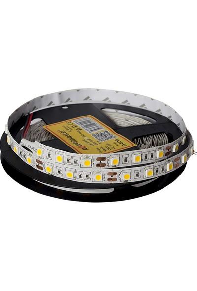 Powermaster LED Şerit 3 Çipli Mavi Iç Mekan Silikonsuz 60 LED 5 m