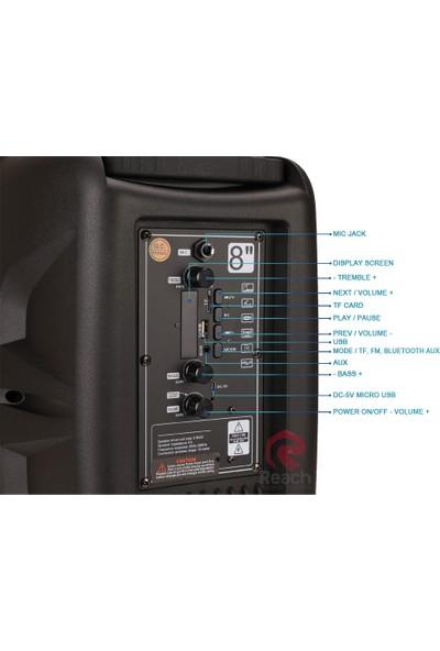 KTS-1089C BT/USB/TF/FM/Led Işıklı Toplantı Anfisi