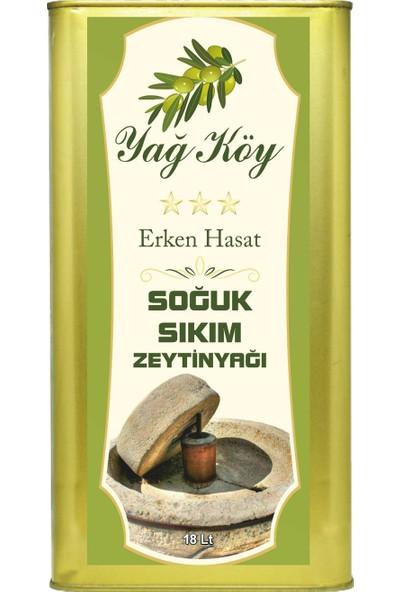 Yağ Köy Soğuk Sıkım Natural Zeytinyağı 18 lt.