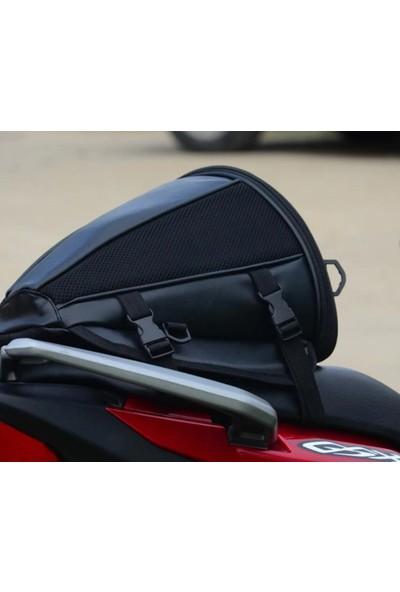 Deri Su Geçirmez Motosiklet Çanta