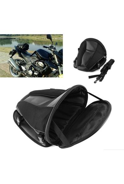 Motosiklet Arka Sele Çanta Deri