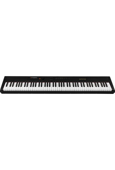 Artesia Performer 88-Tuş Taşınabilir Dijital Piyano Siyah